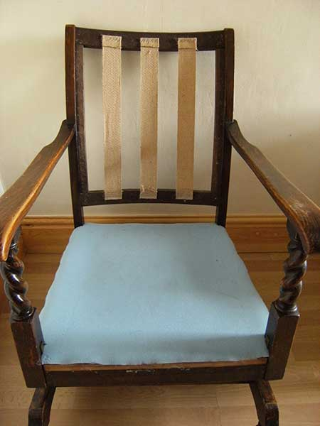 Spring Rocking Chair Maddison Upholstery Services